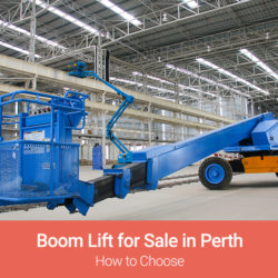boom lift for sale perth