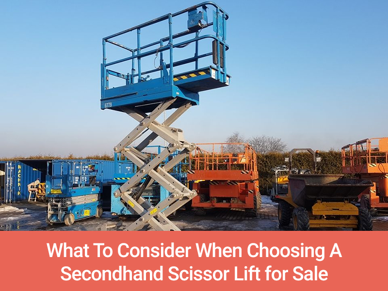 scissor lift for sale secondhand